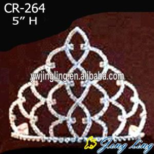 Wholesale 5 Inch Crystal Tiaras CR-264