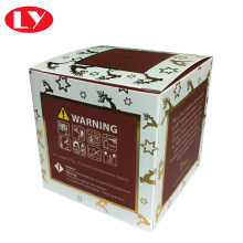 Newly style cheaper candle packaging box