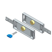 Digital Key Roller Shutter Lock Set