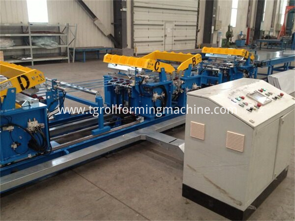 Refrigerator Shell Roll Forming Machine Production Line