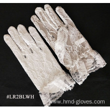 Best Quality for Wedding Lace Gloves White Short Length Lace Glove for Wedding supply to Bosnia and Herzegovina Wholesale