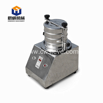Small standard testing sifter machine flexible lab sieve