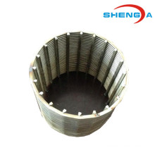 V-shape Profile Wire Johnson Screen Filter Element
