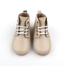 Good Quality for Baby Leather Boots 2018 Toddler Booties Handmade Leather Baby Boy Shoes export to India Factory