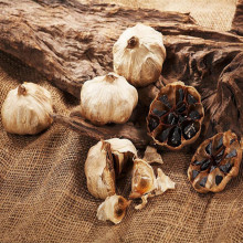 Healthy delicious safe black garlic