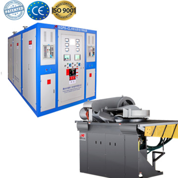 Small electric metal melting furnace for copper