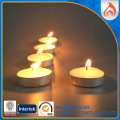 Hot Sale Paraffin Wax Unscented Glitter Tealight Candle