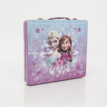 Kids Deluxe Tin Case Stationery Pencil Case