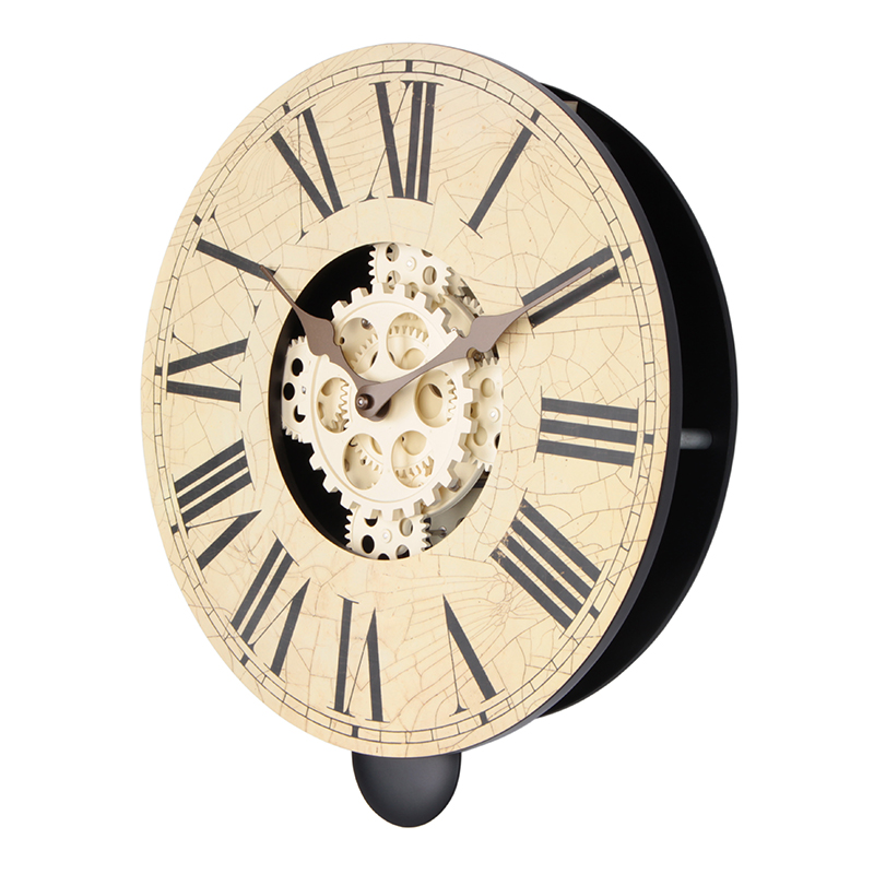 Pendulum Wooden Clock