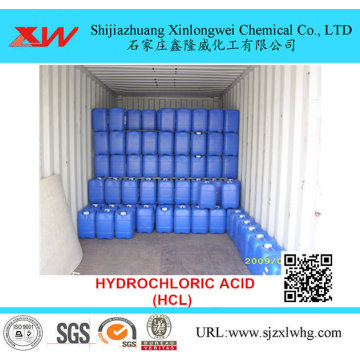 High Quality Industrial Factory for Ups Grade Chemicals Reagent Grade Hydrochloric Acid export to United States Suppliers