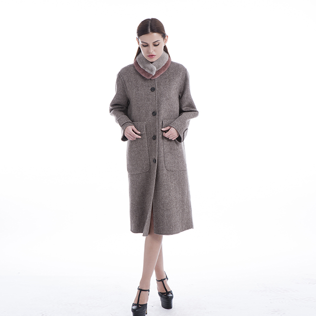 overcoats can also be so elegant