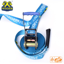 High Quality for Slackline Set Customized Polyester Slack Line Slackline Kit supply to Tunisia Importers