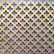 Good Quality for Perforated Metal Facade SS316 Decorative Perforated Mesh supply to Morocco Manufacturer
