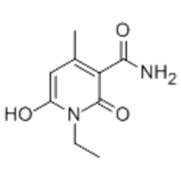 1-Ethyl-1,2-dihydro-6-hydroxy-4-methyl-2-oxo-3-pyridincarbonsäureamid CAS 29097-12-9