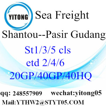 Shenzhen Sea Shiping to Pasir Gudang