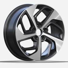 Alloy Custom Wheel Hyuandai Replica Gunmetal Polished