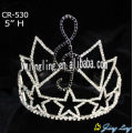 Musical note star Custom Pageant Crowns