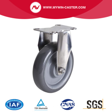 Stainless 5 Inch 110Kg Rigid PU Caster