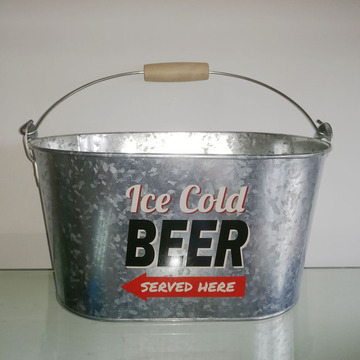 big sale ice beer bucket with bottle opener