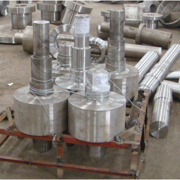 Compressor steel rotor forgings