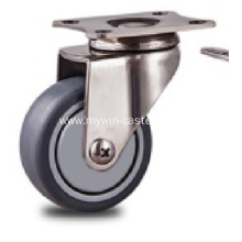 2 inch Stainless steel bracket nylon casters without  brakes