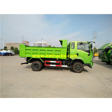 8ton 4x2 Off Road Tipper Trucks