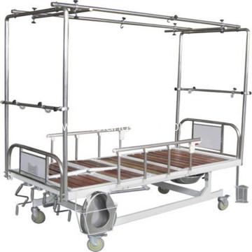 Medical Adjustable Spray Five Function Traction Bed
