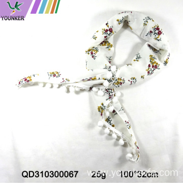 DIGITAL PRINTING FASHION SATIN SCARF