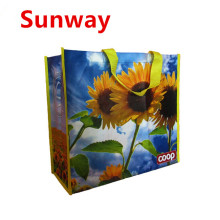 China for Reusable Laminated Shopping Bags Printed Non Woven Bag export to Spain Supplier