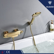 Wall Mount Brass Thermostatic Bathtub Shower Faucet