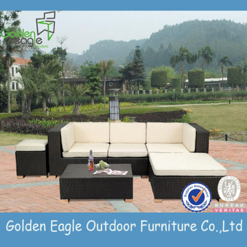Rattan outdoor furniture corner sofa set