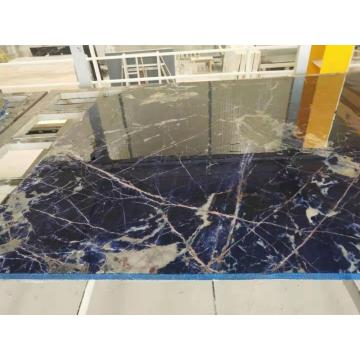 Big pure blue sodalite slab