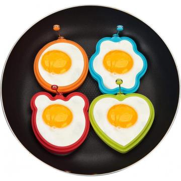 Nonstick Silicone Fried Egg Mold Cooking Pancake