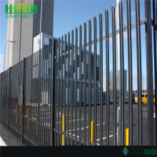 Best Quality for High Quality Palisade steel fence Europe Decorated Garden Fence PVC Coated Palisade Fence export to Singapore Manufacturer