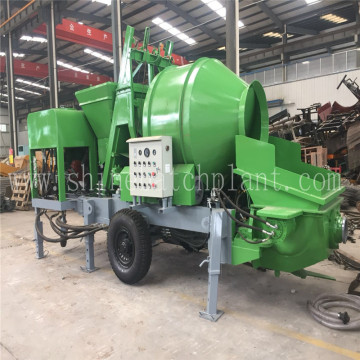 40 Concrete Pump with Mixer