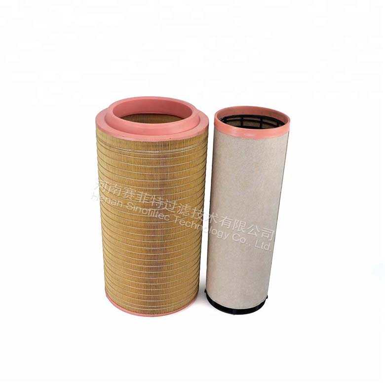 Construction machinery air filter