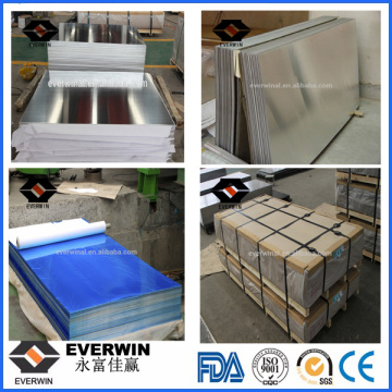 Low Price Mill Finish Aluminum Sheet for Building