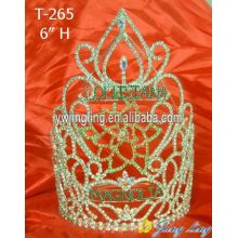 Europe and America pageant Crown Flower Shape