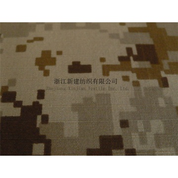 Military Camouflage Fabric for the Middle East