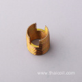 Steel thread insert M10*1.25 1d/1.5d/2d/2.5d