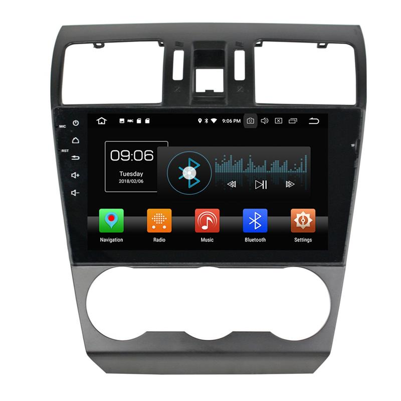 Subaru Forester Android 8 Car Dvd Players 1