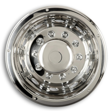 Auto Stainless Steel Wheel Hub Caps Cover Set