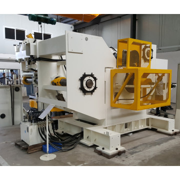 Automatic uncoiling straightening feeding 3 in 1 machine