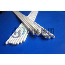 White 100% virgin PTFE/Teflon extruded rod