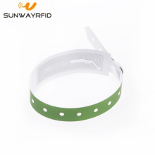 OEM manufacturer custom for Disposable Paper Wristbands RFID Paper Wristband for Event MF1 S20 50 export to Germany Manufacturers
