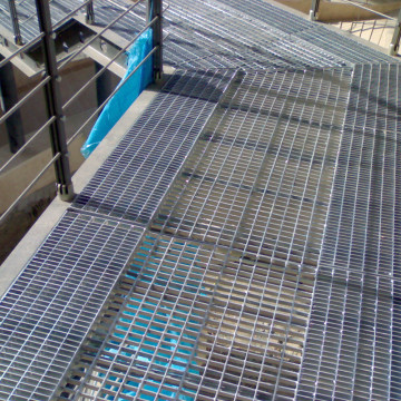 Galvanized Industrial Floor Grates