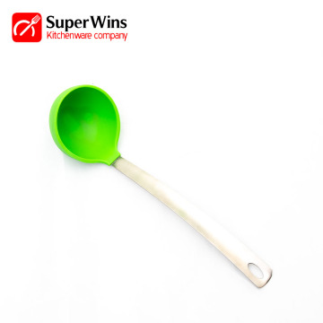 Non Stick Resistant Cooking Tools Silicone Soup Ladle
