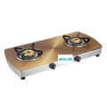 Sunflame Golden Glass Cooktop Brass Burners