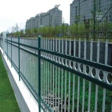 High Permance for Zinc Steel Picket Fence DM-galvanized picket weld fence/Ornamental Iron steel supply to Pitcairn Manufacturers