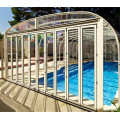 Polycarbonate Retractable Pool Cover For Inground Pool